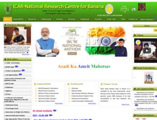 nrcb.res.in screenshot