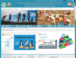 nrega.telangana.gov.in screenshot