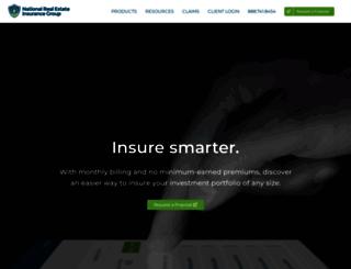 nreinsurance.com screenshot