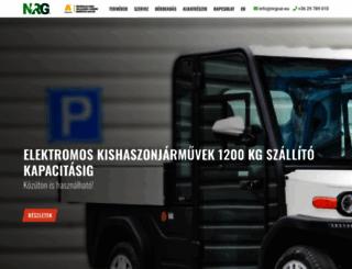 nrgcar.eu screenshot
