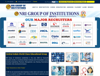 nrigroupindia.com screenshot