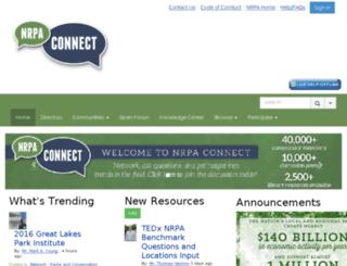nrpaconnect.org screenshot