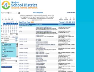 nsd-calendars.nashua.edu screenshot