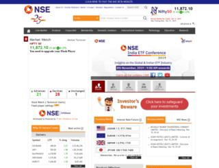 nse-india.com screenshot