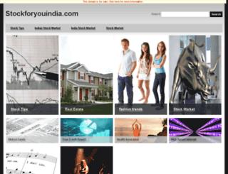 nsefuturepivots.stockforyouindia.com screenshot
