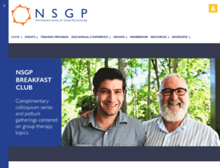 nsgp.wildapricot.org screenshot