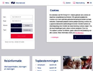 nshighspeed.nl screenshot