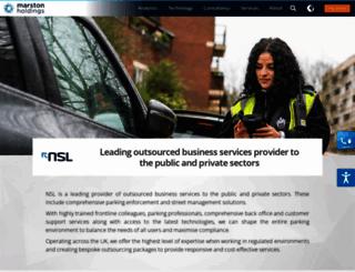 nsl.co.uk screenshot