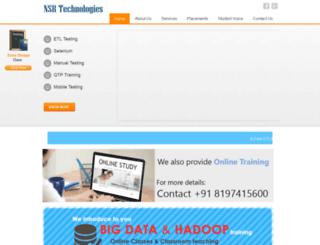 nsrtechnologies.co.in screenshot