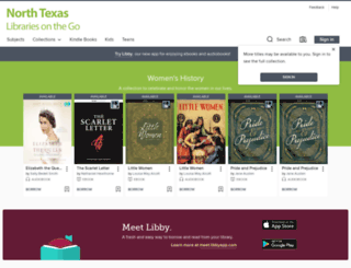 ntrls.libraryreserve.com screenshot