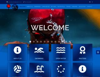 nts-swimming.co.za screenshot