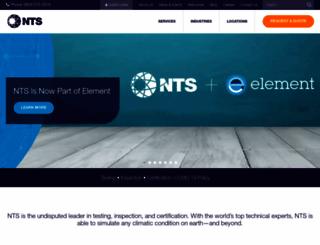 nts.com screenshot