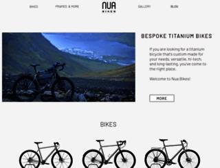 nuabikes.com screenshot