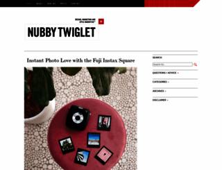 nubbytwiglet.com screenshot