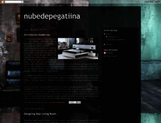 nubedepegatiina.blogspot.com screenshot