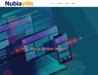nubiaville.com screenshot