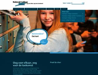 nuborgh.nl screenshot