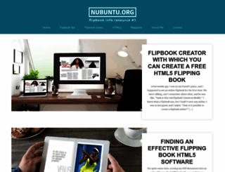 nubuntu.org screenshot