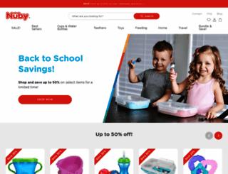 nuby.com screenshot