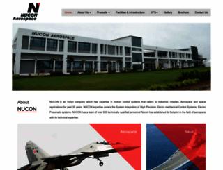 nuconaerospace.com screenshot