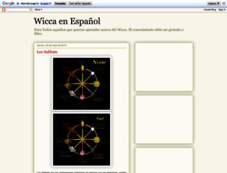 nuevaerawicca.blogspot.com screenshot