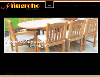 nugrohofurniture.com screenshot