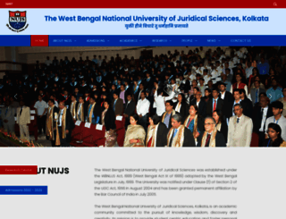 nujs.edu screenshot