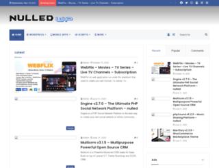 nulledwp.net screenshot