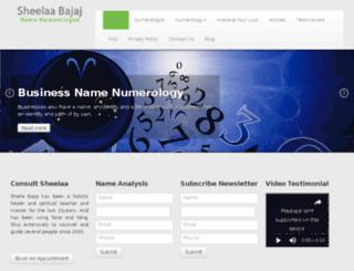 numberconsultant.com screenshot
