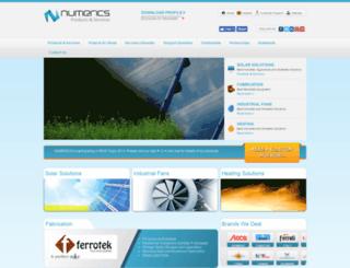 numerics.com.pk screenshot