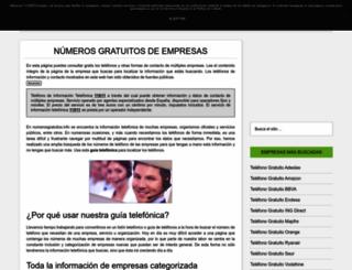 numerosgratuitos.info screenshot