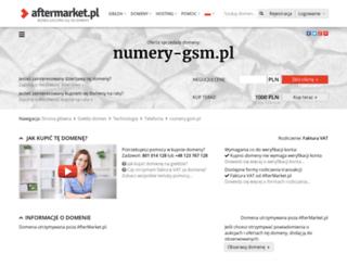 numery-gsm.pl screenshot