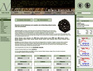 numismatik.ch screenshot