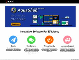 nurgo-software.com screenshot