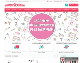 nurseoclock.es screenshot
