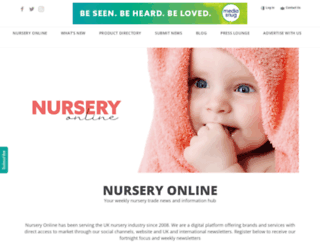 nursery-online.com screenshot