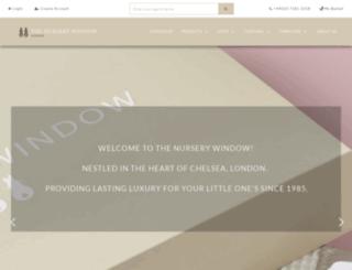 nurserywindow.co.uk screenshot