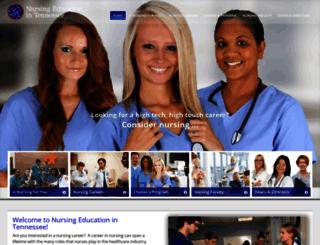 nursing-education-tn.org screenshot