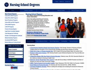nursing-school-degrees.com screenshot