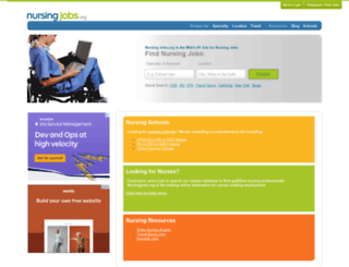 nursingjobs.org screenshot