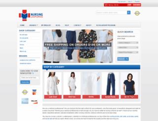 nursinguniforms.net screenshot