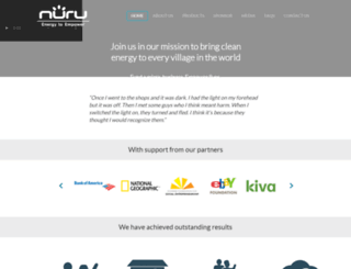 nuruenergy.com screenshot