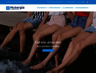 nutergia.com screenshot