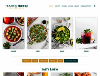 nutmegnanny.com screenshot