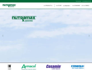 nutramaxlabs.com screenshot