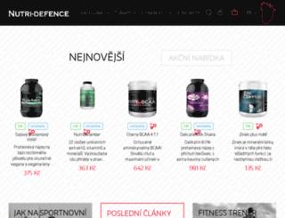 nutri-defence.cz screenshot