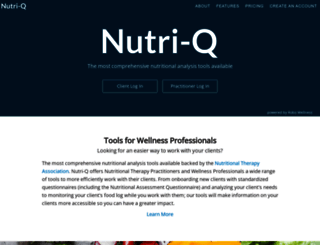 nutri-q.com screenshot