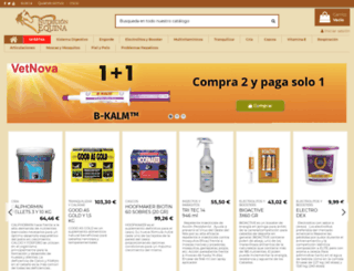 nutricionequina.com screenshot