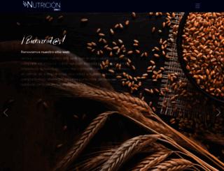 nutriciongrupobimbo.com screenshot
