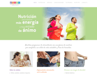 nutriologapilarmunoz.com screenshot